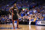 Miami Heat v Dallas Mavericks - Game Five, Dallas, TX -June 9: LeBron James Photographic Print by Garrett Ellwood