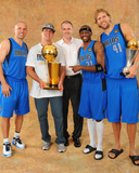 Dallas Mavericks v Miami Heat - Game Six, Miami, FL - June 12: Jason Kidd, , Mark Cuban, Rick Carli Photo by Jesse D. Garrabrant