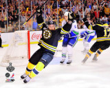 Boston Bruins - Rich Peverley Celebration Photo