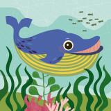 Ocean Friends, Walter Posters af Jenn Ski