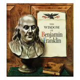 """Benjamin Franklin, bust,"" January 21, 1961 Giclee Print by John Atherton"