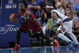 Miami Heat v Dallas Mavericks - Game Four, Dallas, TX -June 7: Dwyane Wade and Jason Terry Photographic Print by Glenn James