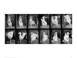 Dancing Girl, 1887 Giclee Print by Eadweard Muybridge