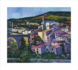 Evening Sunlight Minerve Collectable Print by Davy Brown
