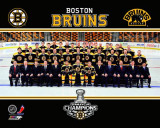 Boston Bruins - Bruins Team Sitdown Overlay Photo