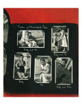 """""""Family Photo Album,"""" August 6, 1949 Giclee Print by George Hughes"""