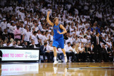 Dallas Mavericks v Miami Heat - Game Six, Miami, FL - June 12: Dirk Nowitzki Photographic Print by Garrett Ellwood