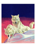 """White Wolves,"" March 8, 1941 Giclee Print by Jack Murray"