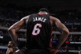 Miami Heat v Dallas Mavericks - Game Five, Dallas, TX -June 9: LeBron James Photographic Print by Nathaniel S. Butler