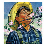 """Apple Blossoms,"" May 6, 1944 Giclee Print by Howard Scott"