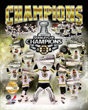 Boston Bruins - Bruins Champions PF Gold Photo