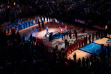 Miami Heat v Dallas Mavericks - Game Four, Dallas, TX -June 7: Kelly Clarkson Photographic Print by Tom Pennington