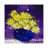 Yellow Daisies Under the Moon Limited Edition by John Lowrie Morrison