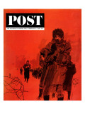 """From Behind the Iron Curtain,"" Saturday Evening Post Cover, February 9, 1963 Giclee Print by Bill Whittingham"