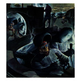 """Tank Factory,"" November 20, 1943 Giclee Print by Robert Riggs"