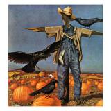 """""""Scarecrow,"""" October 26, 1946 Impression giclée par John Atherton"""