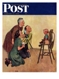 """Baby Picture,"" Saturday Evening Post Cover, February 19, 1949 Giclee Print by Jack Welch"