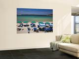 Resort Beach, Baja Sardinia, Sardinia, Italy Wall Mural by Walter Bibikow
