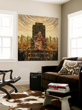 King Deluxe Wall Mural by HR-FM
