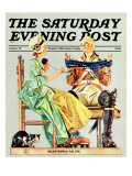 """Truce,"" Saturday Evening Post Cover, October 1, 1975 Giclee Print by J.C. Leyendecker"