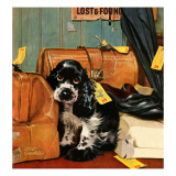 """Butch in Lost & Found,"" January 29, 1949 Giclee Print by Albert Staehle"