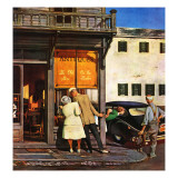 """Antique Store,"" June 28, 1947 Giclee Print by John Falter"