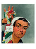 """Ugly Tie,"" May 23, 1942 Giclee Print by Charles Kaiser"