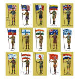 """International Boy Scouts,"" July 23, 1960 Giclee Print by James Lewicki"