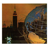 """New York World's Fair,"" May 23, 1964 Giclee Print by John Zimmerman"