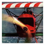 """1918 Fokker D-7,"" May 18, 1963 Giclee Print by John Zimmerman"