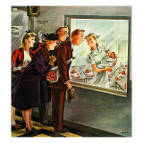 """Maternity Ward,"" November 2, 1946 Giclee Print by Constantin Alajalov"