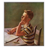 """Future Author,"" February 9, 1946 Giclee Print by Alexander Brook"