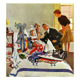 """Housecall,"" February 27, 1960 Giclee Print by George Hughes"