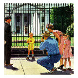 """Future President,"" September 25, 1948 Giclee Print by George Hughes"