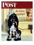 """No Dogs Allowed,"" Saturday Evening Post Cover, August 24, 1946 Giclee Print by Albert Staehle"
