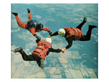"""Sky Divers,"" June 18, 1966 Giclee Print by Jerry Irwin"
