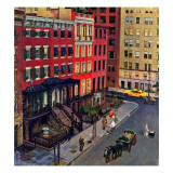 &quot;Gramercy Park,&quot; March 25, 1944 Giclee Print by John Falter