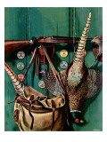 """Hunting still life,"" November 11, 1944 Giclee Print by John Atherton"