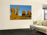 Moonrise Over Garden of Eden, Arches National Park, Utah, USA Wall Mural by Cathy & Gordon Illg