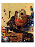 &quot;Still Life of Boys Toys,&quot; June 30, 1945 Reproduction proc&#233;d&#233; gicl&#233;e par John Atherton