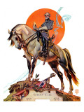 """Robert E. Lee on Traveler,"" January 20, 1940 Giclee Print by Joseph Christian Leyendecker"