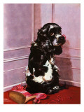 &quot;Bad Dog, Butch,&quot; September 20, 1947 Giclee Print by Albert Staehle