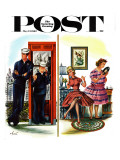 """She Has a Great Personality,"" Saturday Evening Post Cover, May 12, 1962 Giclee Print by Constantin Alajalov"