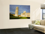 Duomo and Leaning Tower, Pisa, Italy Wall Mural by Terry Eggers