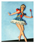 """Ballet Comes to Main Street,"" November 21, 1942 Giclee Print by Constance Bannister"