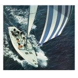"""America's Cup,"" August 22, 1964 Giclee Print by John Zimmerman"