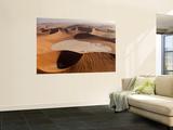 View of Namib Desert Sand Dunes, Namib-Naukluft Park, Sossusvlei, Namibia, Africa Wall Mural by Wendy Kaveney