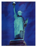 """Statue of Liberty,"" January 10, 1942 Giclee Print by Ivan Dmitri"