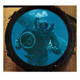 """Sealab Diver,"" September 5, 1964 Giclee Print by Robert Barth"