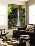 Russell Falls, Mount Field National Park, Tasmania, Australia Wall Mural by David Wall